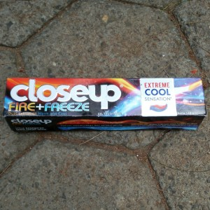 CloseUp Fire+Freeze Extreme Cool Sensation