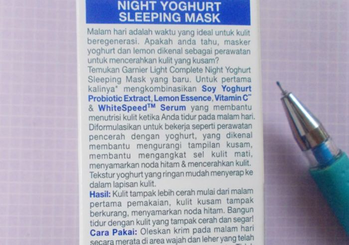 Review-garnier-new-light-complete-yoghurt-sleeping-mask-96