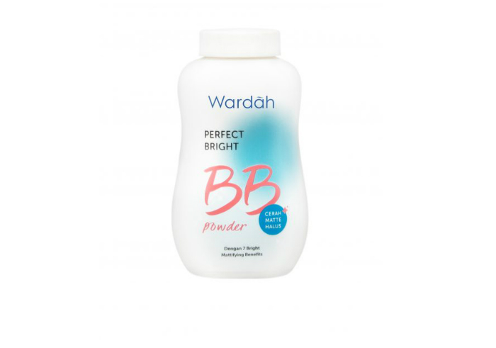 review image Wardah Perfect Bright BB Powder