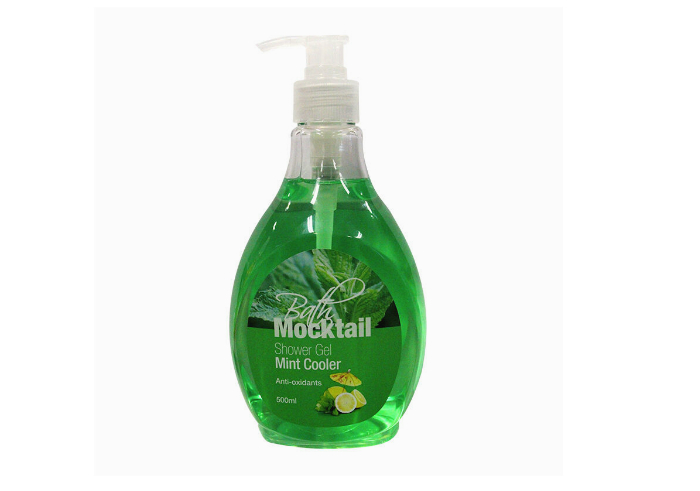 review gratis tester BATH MOCKTAIL Shower Gel Mint Cooler gratis