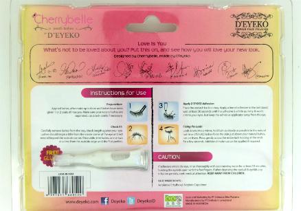 review gratis Bulu Mata Palsu D'Eyeko Cherrybelle