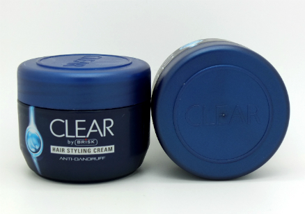 Clear Hair Styling Cream