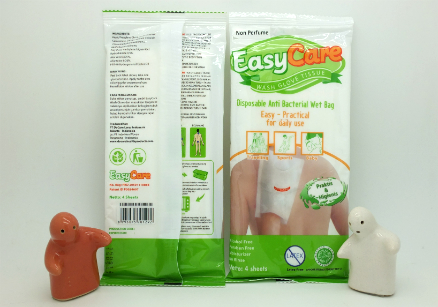 review gratis EasyCare Wash Glove Tissue