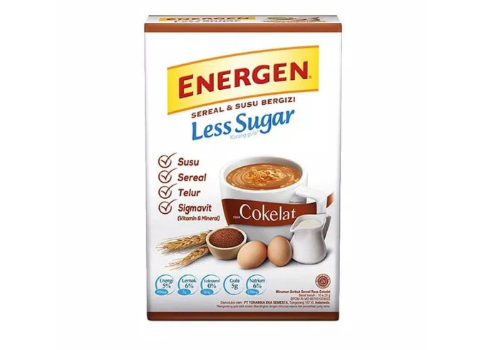 review image Energen Less Sugar