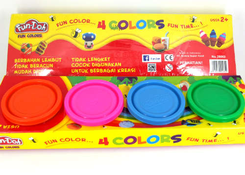 review gratis Fun-Doh 4 Colors