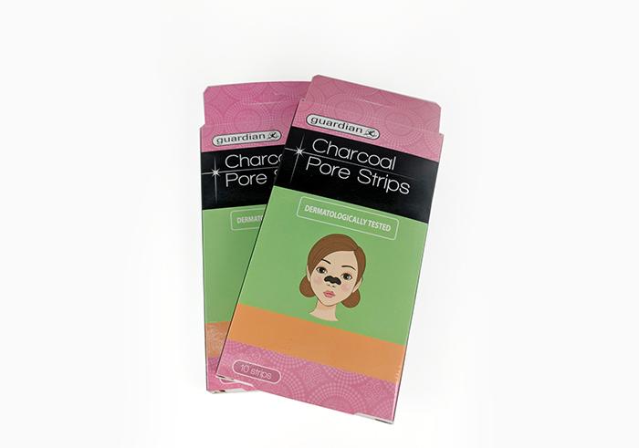 review gratis Guardian Charcoal Pore Strips
