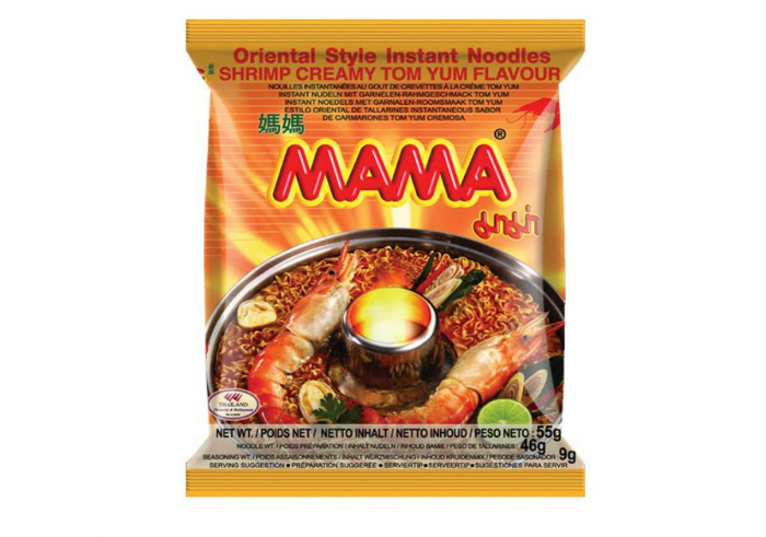 review image MAMA Shrimp Creamy Tom Yum