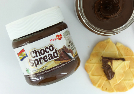 review gratis MamaSuka Choco Spread Milk Chocolate