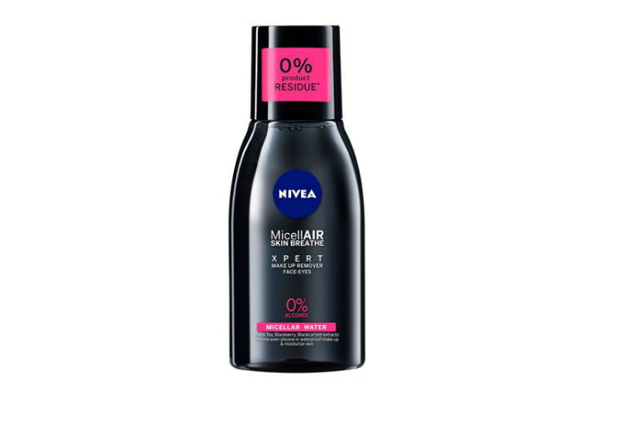 review gratis tester Nivea Micellair Black Xpert gratis