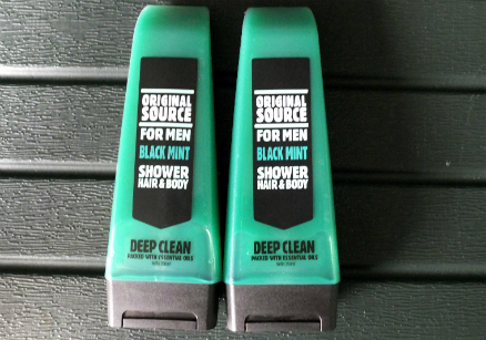 review gratis Original Source Black Mint Shower Hair & Body