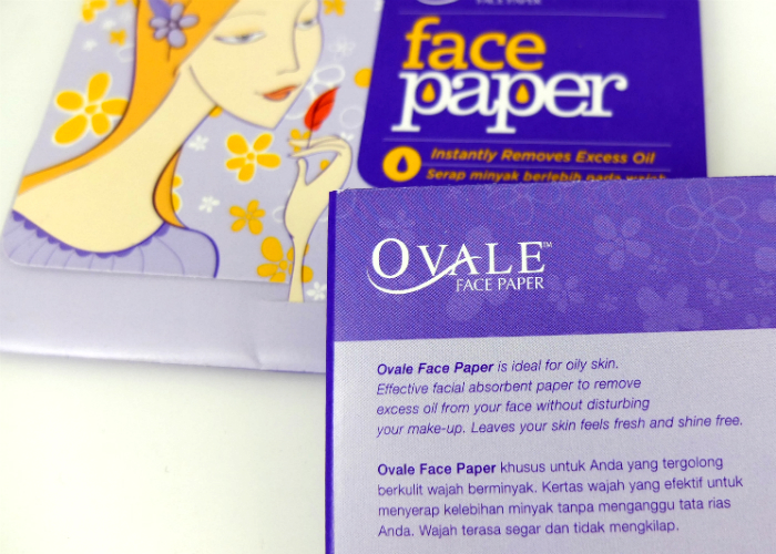review gratis Ovale Face Paper