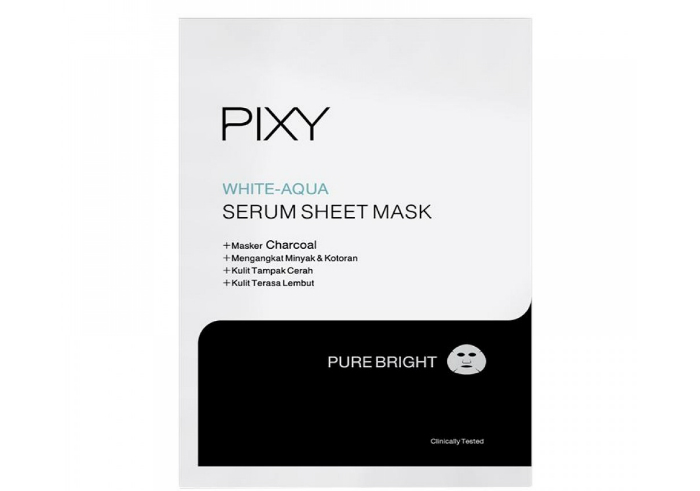 review image PIXY White - Aqua Serum Sheet Mask