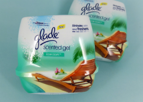 review gratis Pengharum Ruangan Glade Scented Gel Ocean Escape