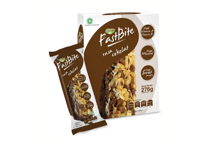 review gratis PROSANA FASTBITE Cereal Bar - Coklat