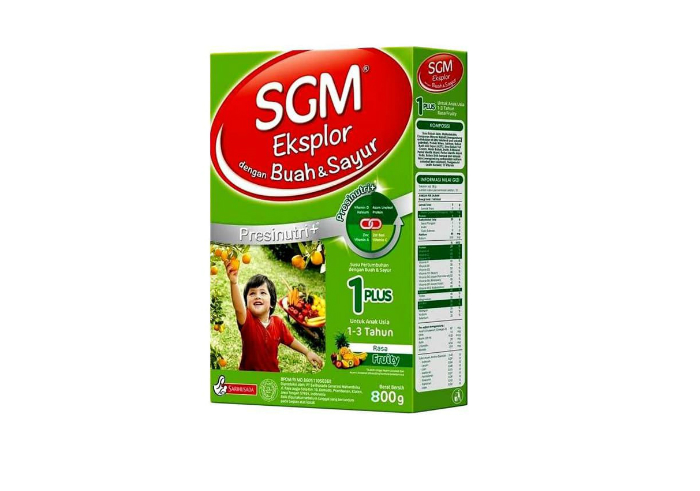 review image SGM Explor 1+ Buah dan Sayur