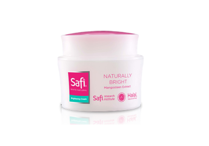 review image SAFI White Natural Brightening Cream Mangosteen Extract