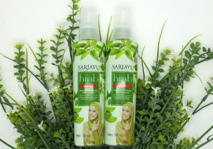 review gratis Sariayu Hijab Hair Mist