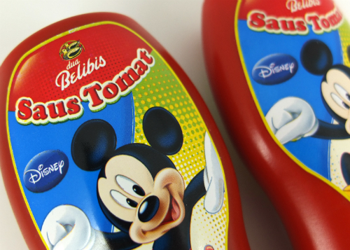 review gratis Saus Tomat Dua Belibis Disney Edition