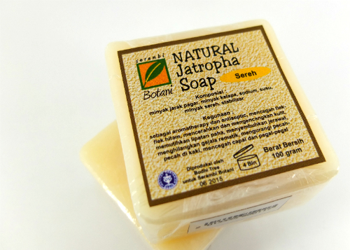 review gratis Serambi Botani Natural Jatropha Soap