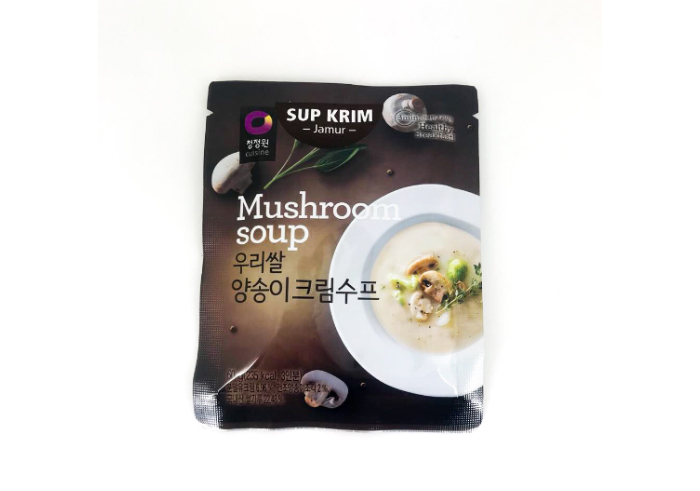 review gratis Daesang Korean Mushroom Soup
