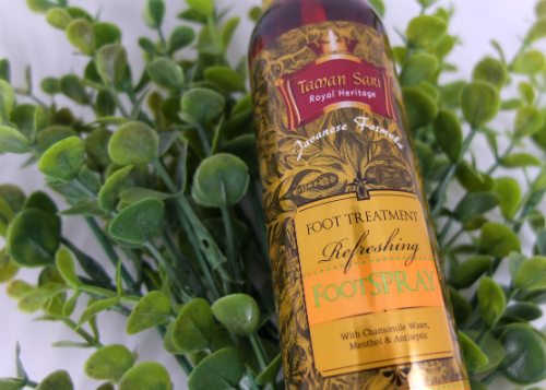 review gratis Taman Sari Royal Heritage Foot Spray
