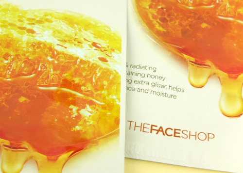 review gratis The Face Shop Real Nature Mask Honey