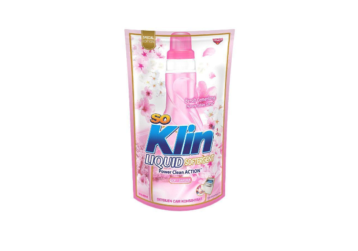 review image So Klin Liquid Softergent Soft Sakura