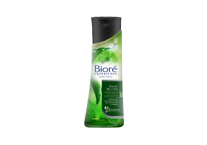 review image Biore Experience Body Foam Forest Bless