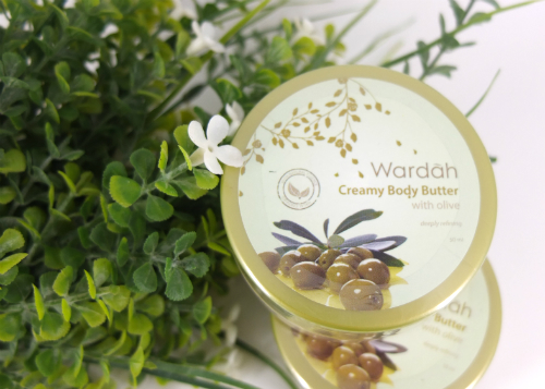 review gratis Wardah Creamy Body Butter With Olive
