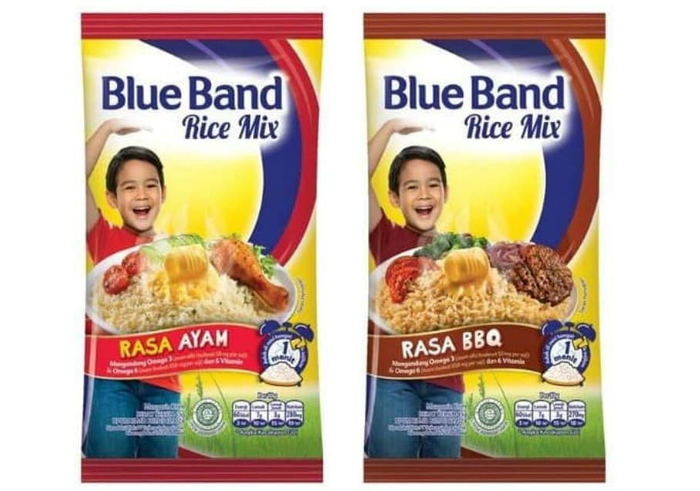 review image Blue Band Rice Mix Rasa Ayam & BBQ
