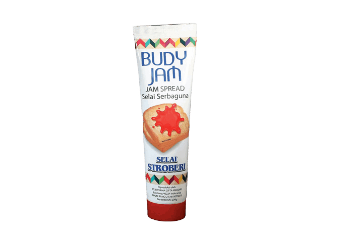 review gratis Budy Jam Strawberry