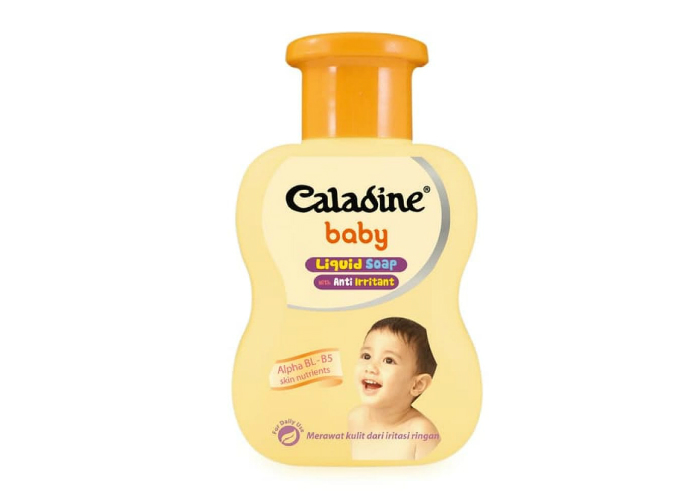 review gratis tester Caladine Baby Liquid Soap With Anti Irritant gratis