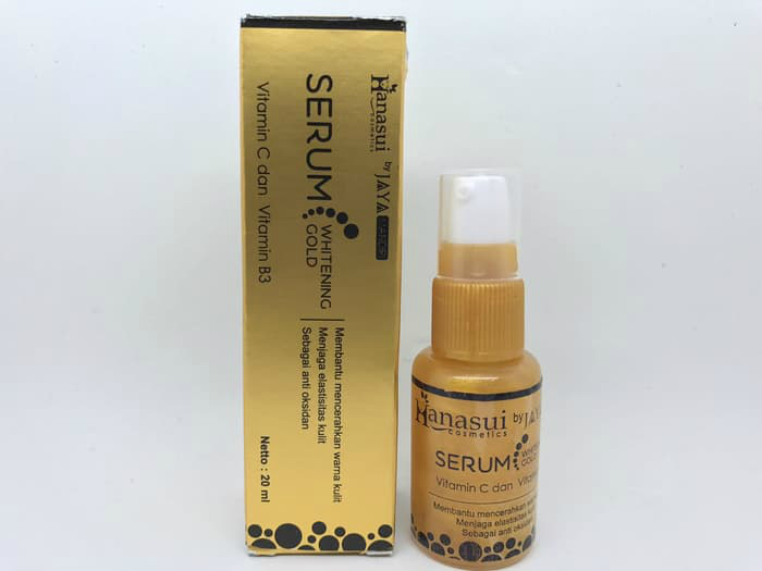 review image Hanasui Serum Whitening Gold