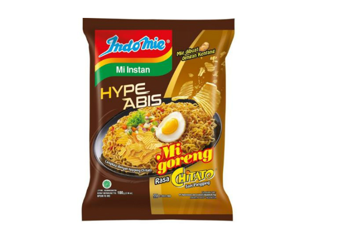 review image Indomie HypeAbis Chitato - Sapi Panggang