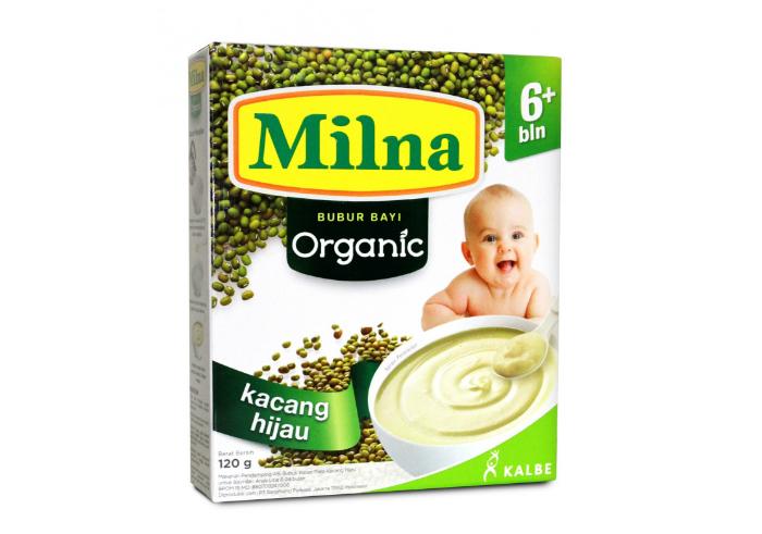 review gratis tester Milna Bubur Bayi Organic 6+ bln - Kacang Hijau gratis