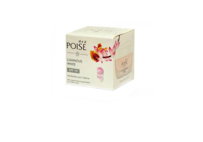 review image Poise Luminous White - Whitening Day Cream