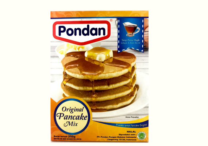 review gratis Pondan Pancake Mix - Original