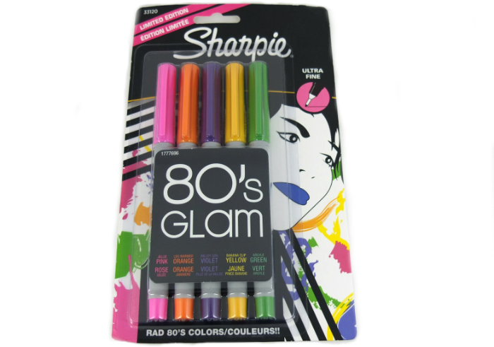 review gratis Sharpie Ultra Fine 80's Glam