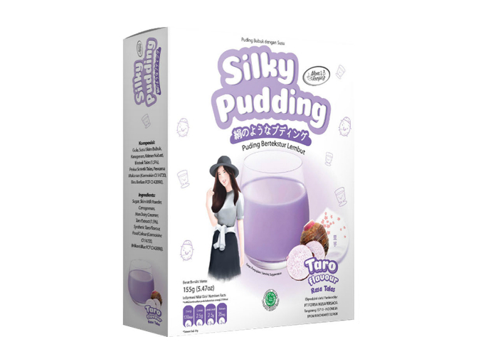 review image Silky Pudding - Taro