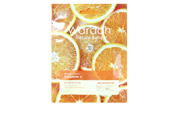 review image Wardah Nature Daily Sheet Mask