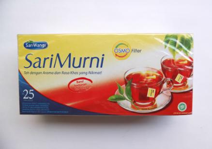 review gratis SariWangi SariMurni Teh Celup