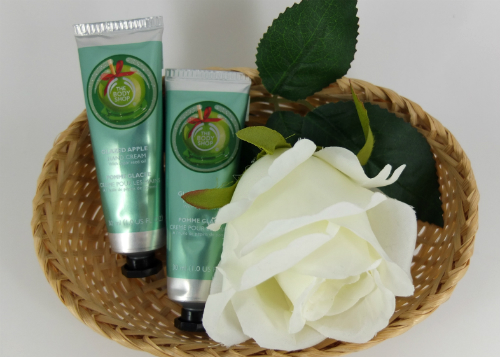 review gratis The Body Shop Glazed Apple Hand Cream