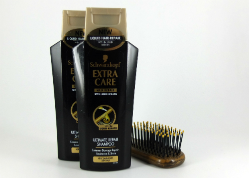 review gratis Schwarzkopf Extra Care Ultimate Repair Shampoo