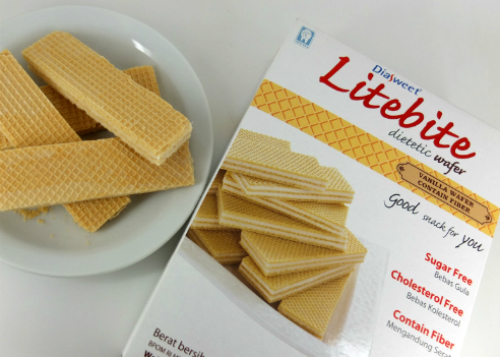 review gratis Diasweet Litebite Dietic Vanilla Wafer