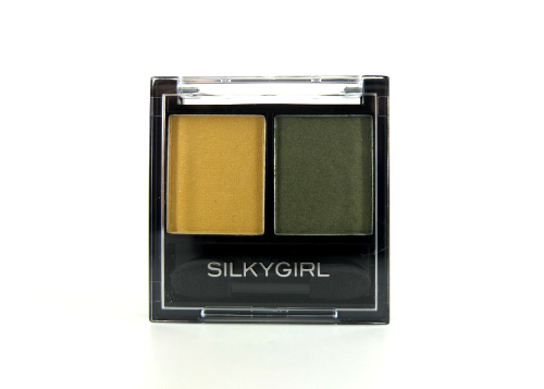 Silky Girl Double Intense Duo Eyeshadow Golden Jade