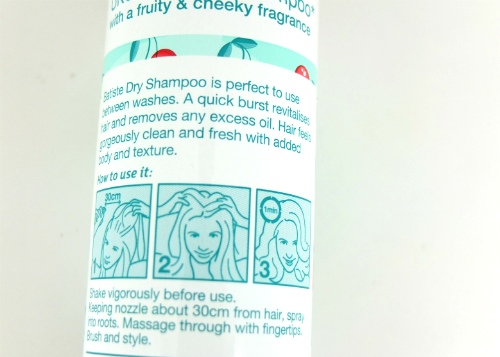 review gratis Batiste Dry Shampoo Cherry