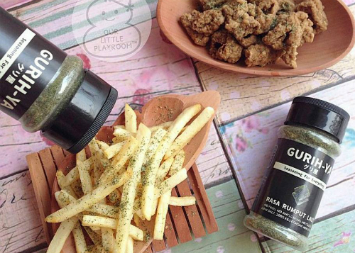 review gratis Gurih-Ya Seaweed Seasoning