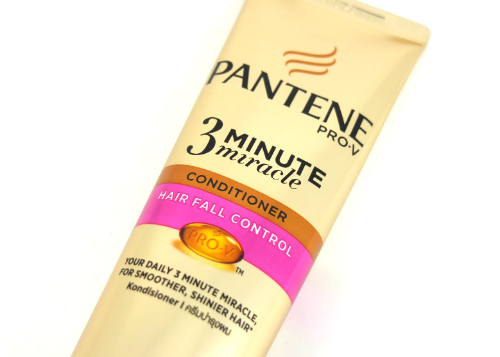 review gratis Pantene Conditioner 3 Minutes Miracle Quantum Hair Fall Control