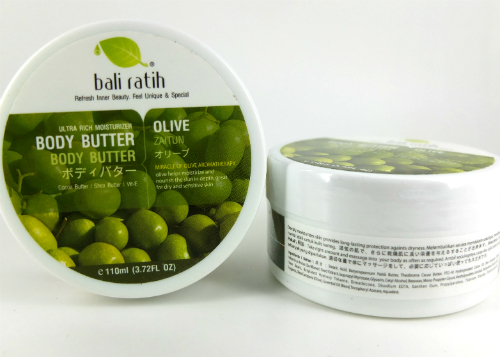 review gratis Bali Ratih Body Butter Olive