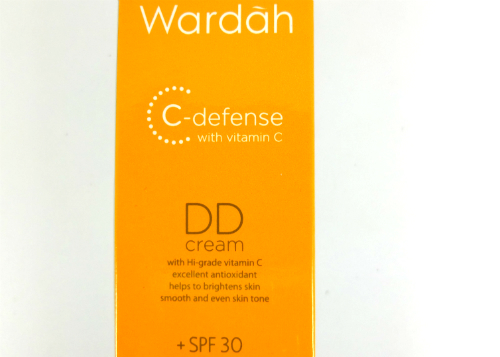 review gratis Wardah C-Defense DD Cream Natural